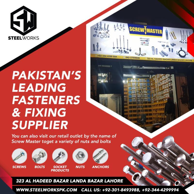 Fasteners-Fixings-supplier-lahore-pakistan